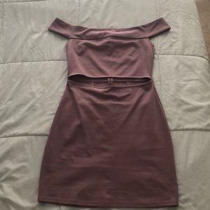Dress- mauve/pink